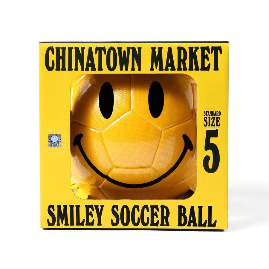China Town Market Accessories Smiley Soccer Ball