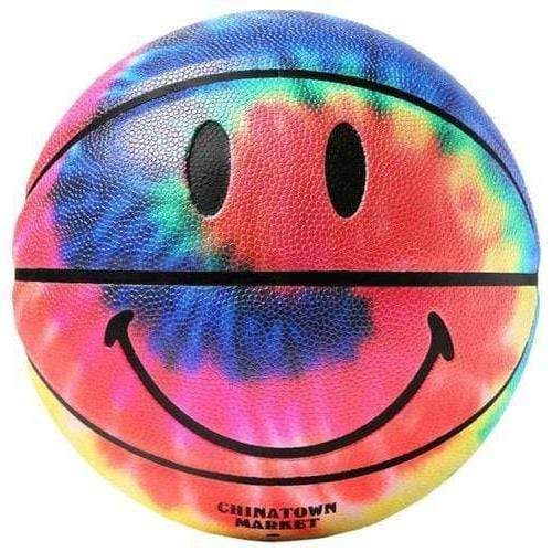 China Town Market Accessories Smiley Tie Dye Basketball