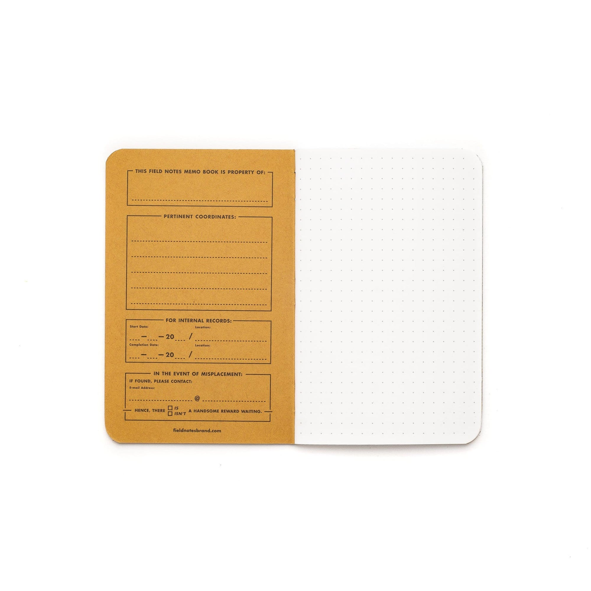 Field Notes Notizbücher Pitch Black Dot (3er Pack)