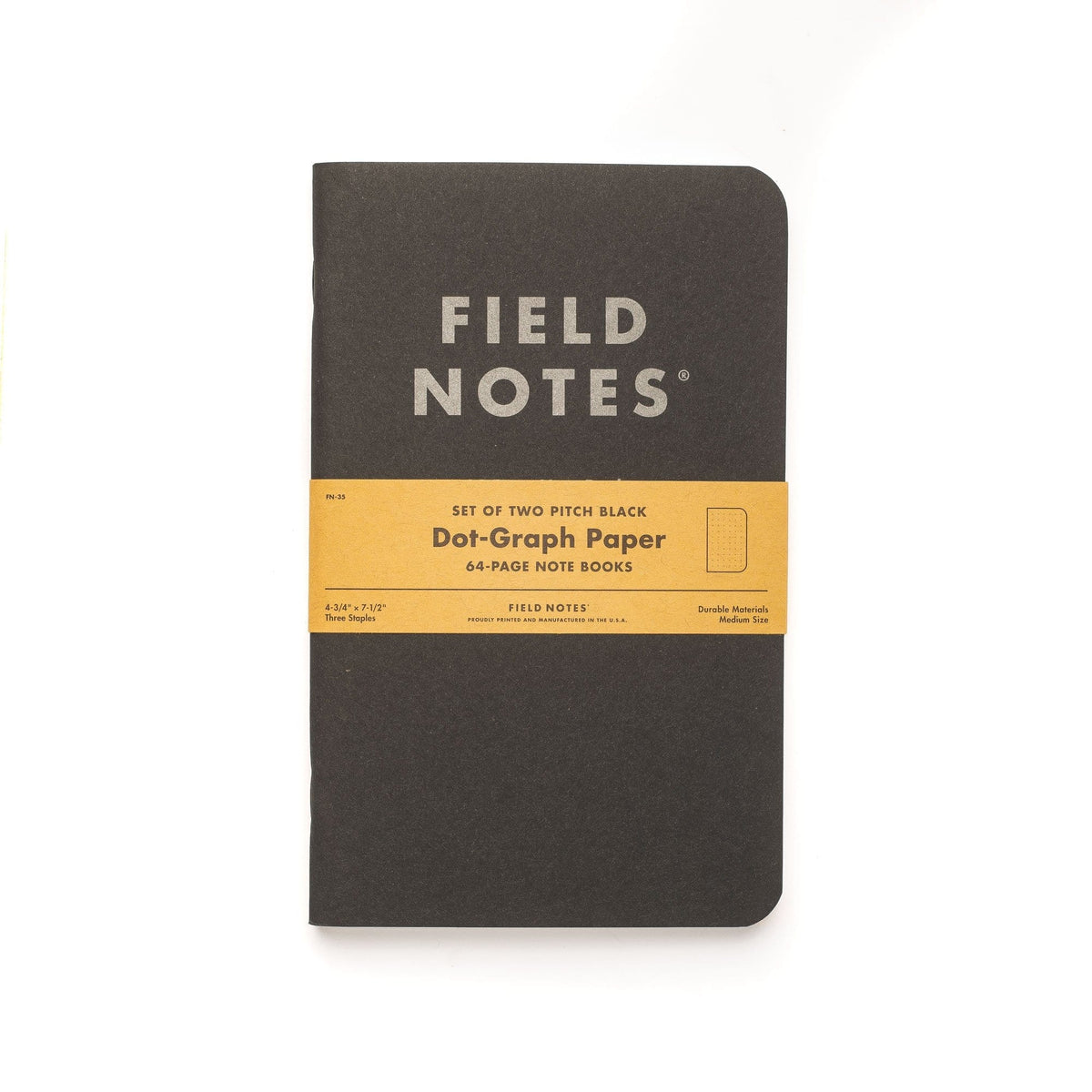 Pitch Black Note Book (2er Pack)