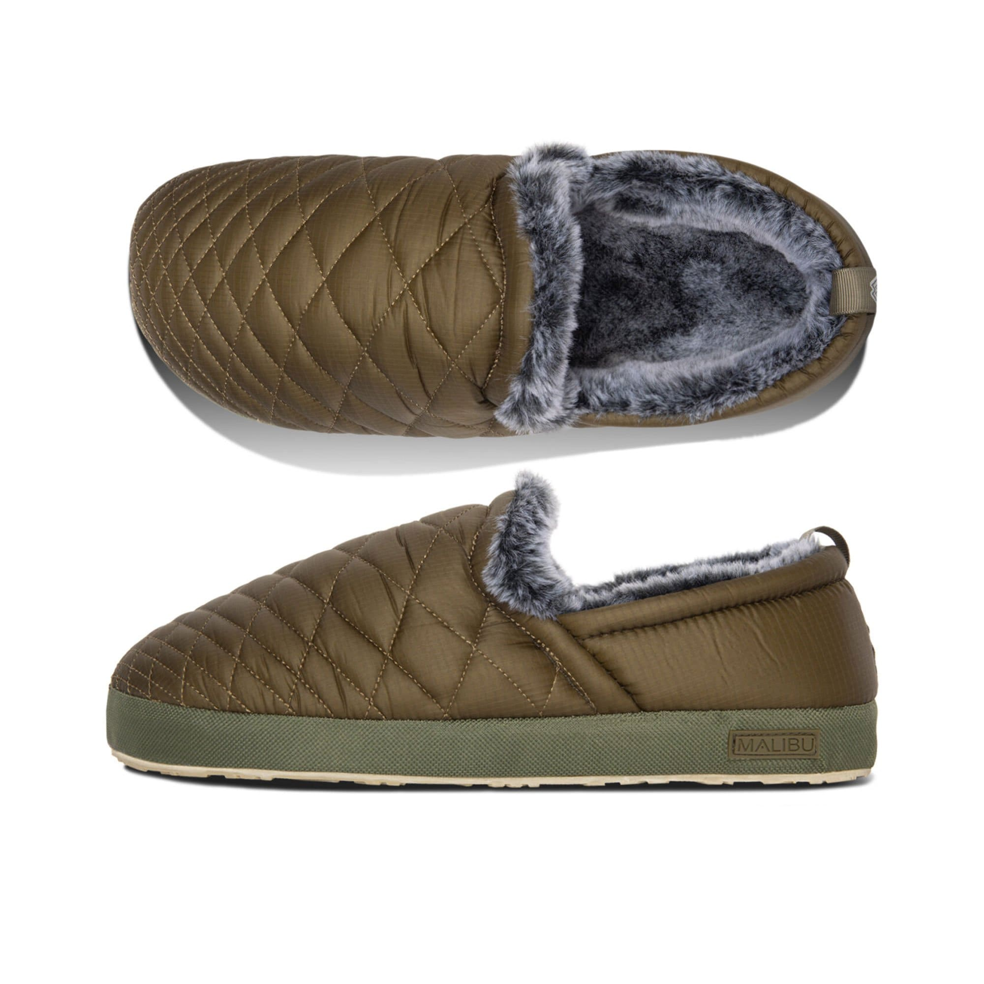 Malibu Sandals Schuhe Olive / EU 41/42 Colony Moc Slipper