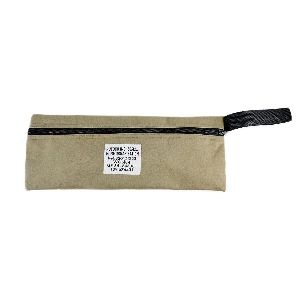 Laminated Fabric Pouch Long