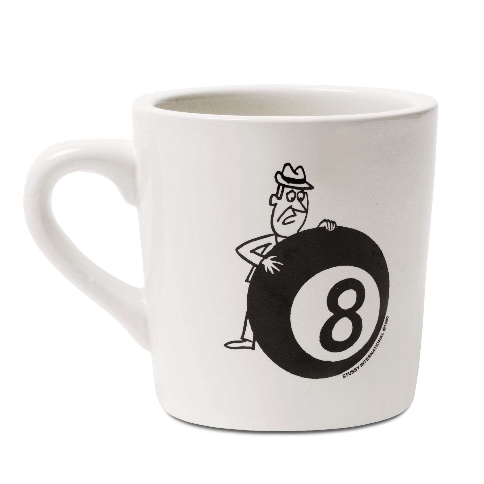 Stüssy Küche & Kochen Behind The 8 Ball Ceramic Mug