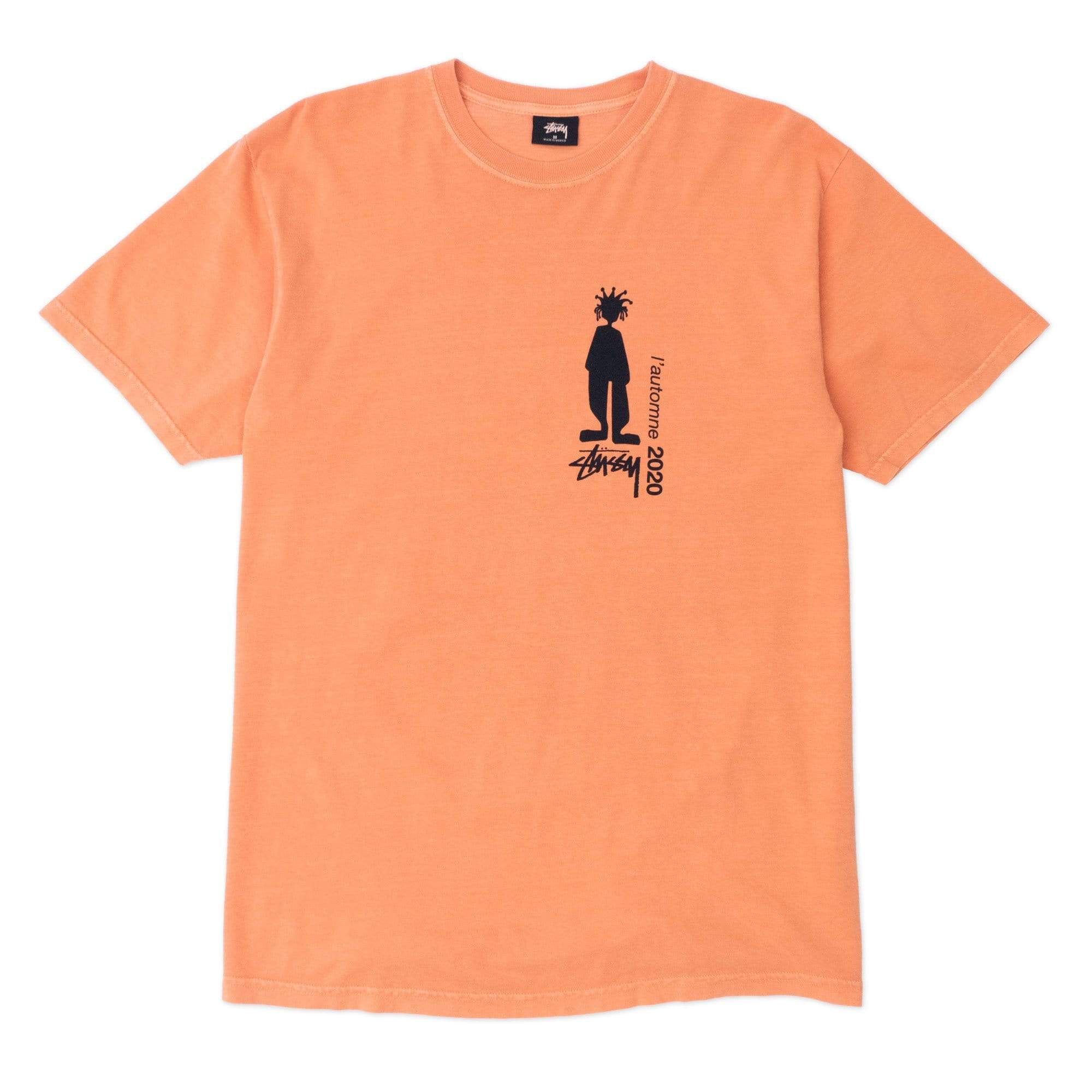 Stüssy T-Shirts M Delusion Pig. Dyed Tee