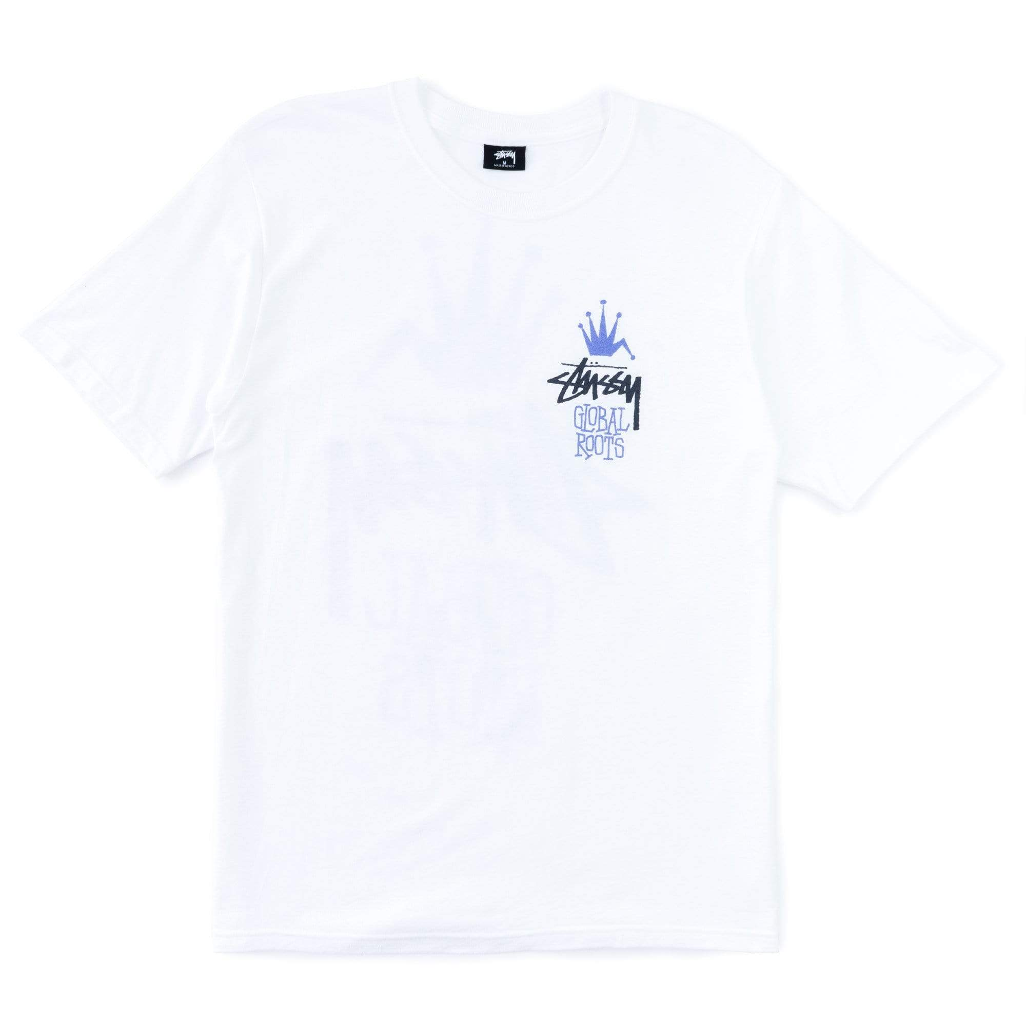 Stüssy T-Shirts M Global Roots Tee
