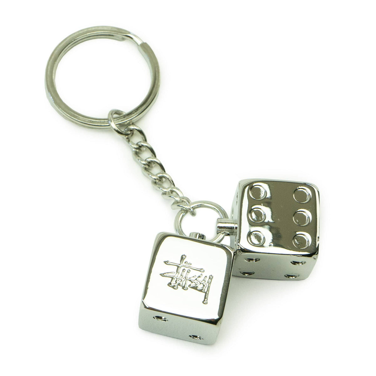 Metal Dice Keychain