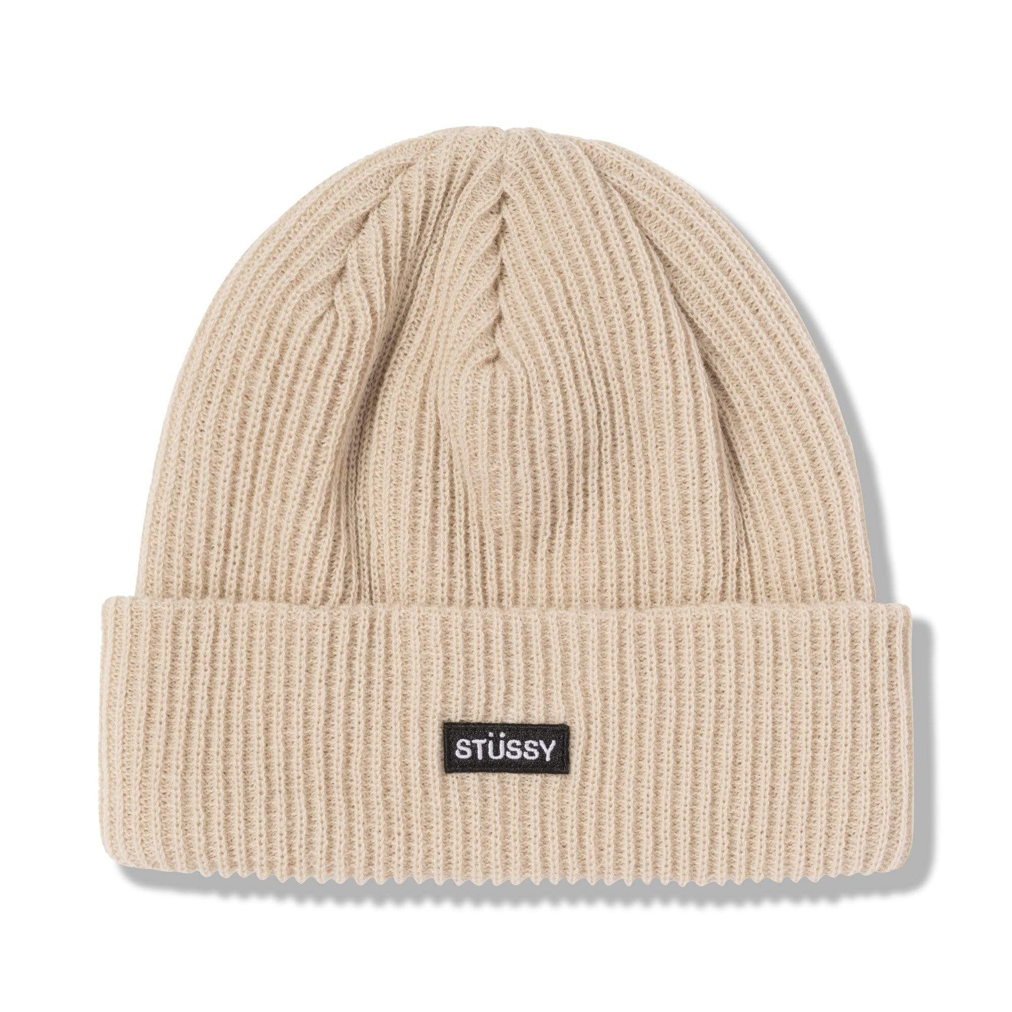 Stüssy Kopfbedeckungen Sand Small Patch Watchcap Beanie Holiday20