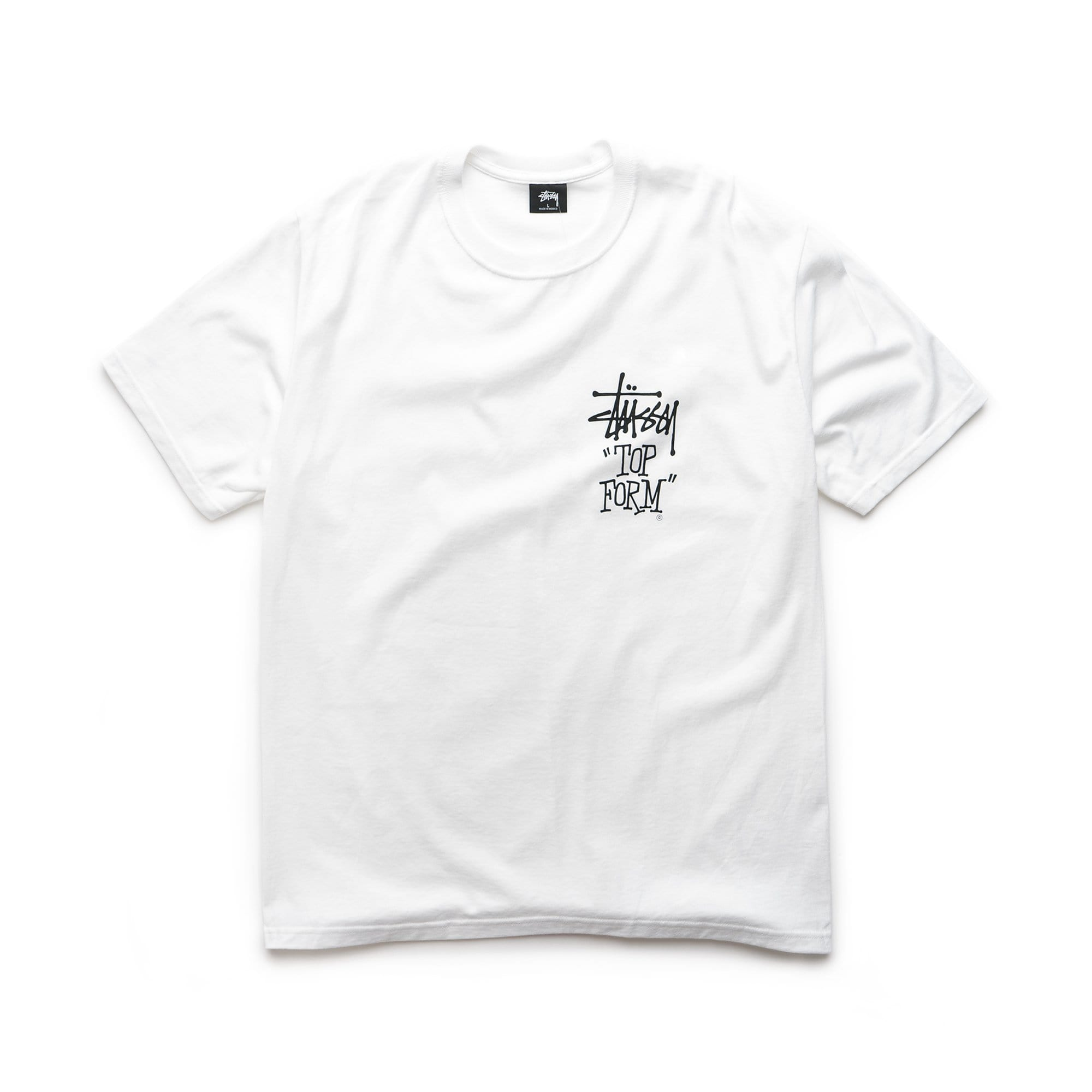 Stüssy T-Shirts Top Form Tee