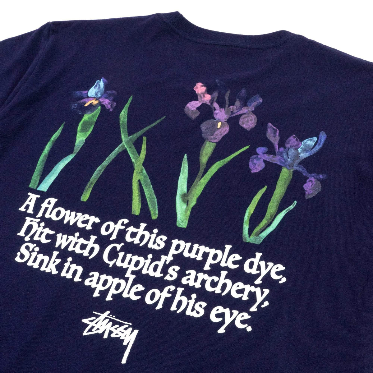 Stüssy T-Shirts Water Flowers Tee