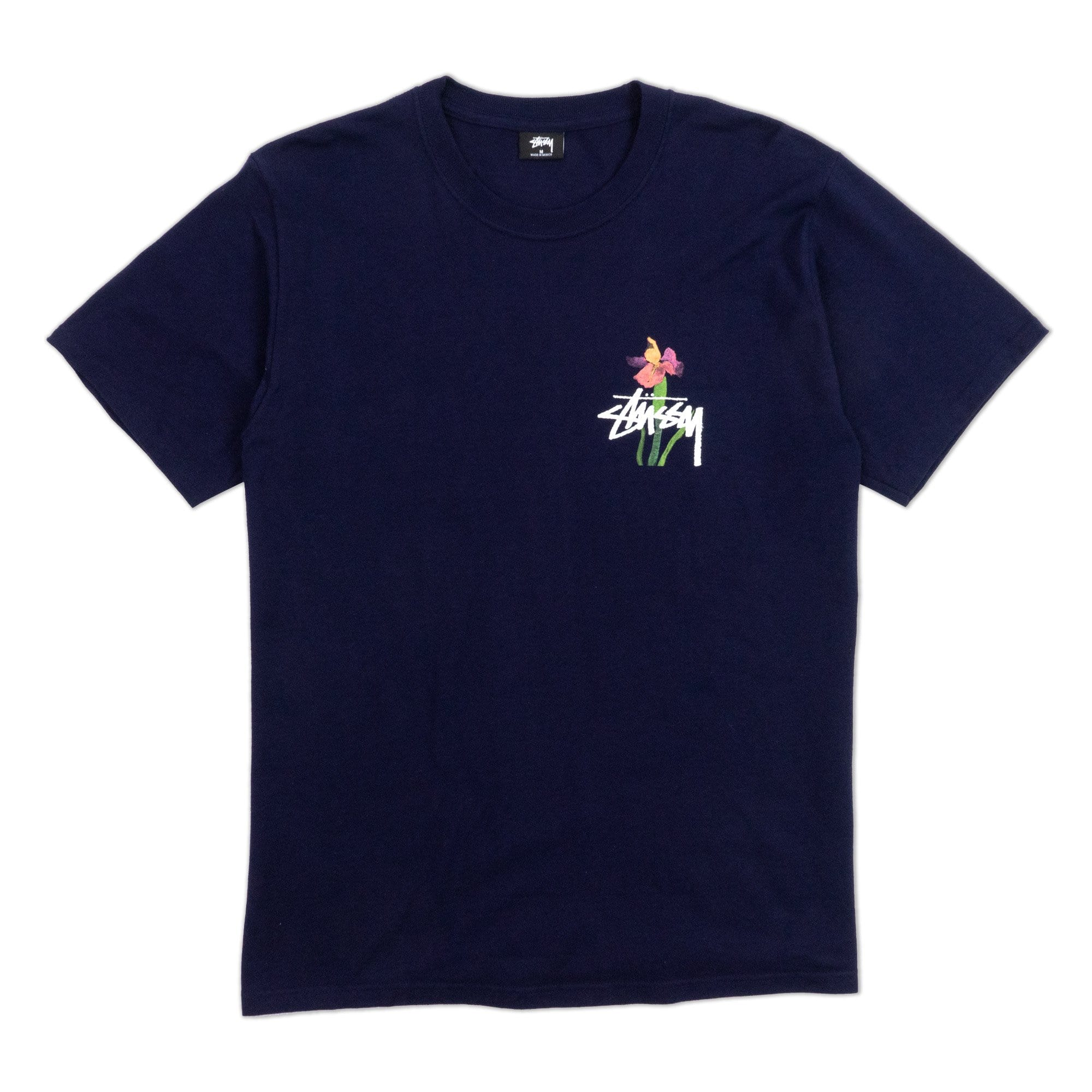Stüssy T-Shirts M Water Flowers Tee