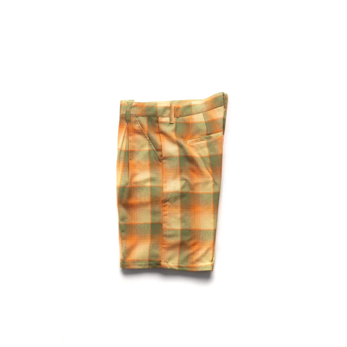 Doris Plaid Baggy Short