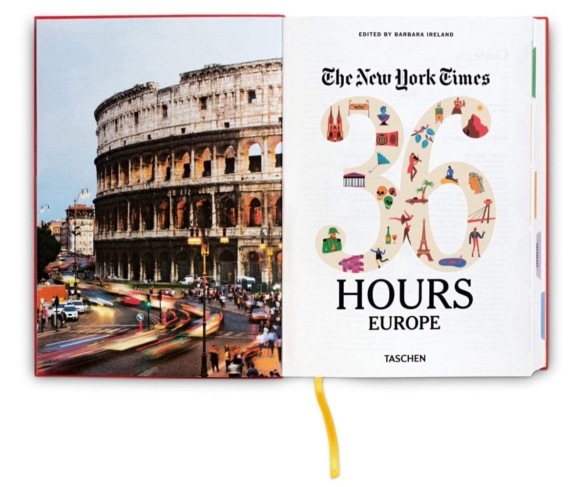 The New York Times 36 Hours Europa (2. Auflage)