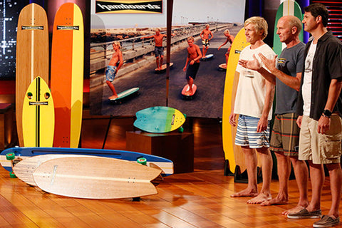 Hamboards on Shark Tank