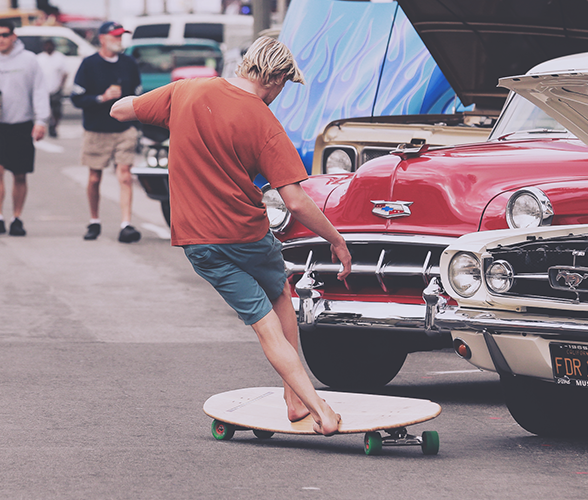 World's best longboard skateboarding places