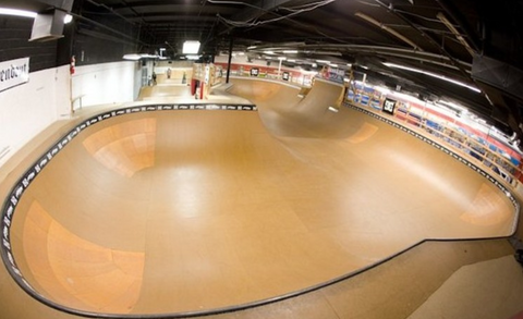 Longboarding Indoor