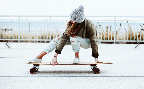 Winter Surfskating