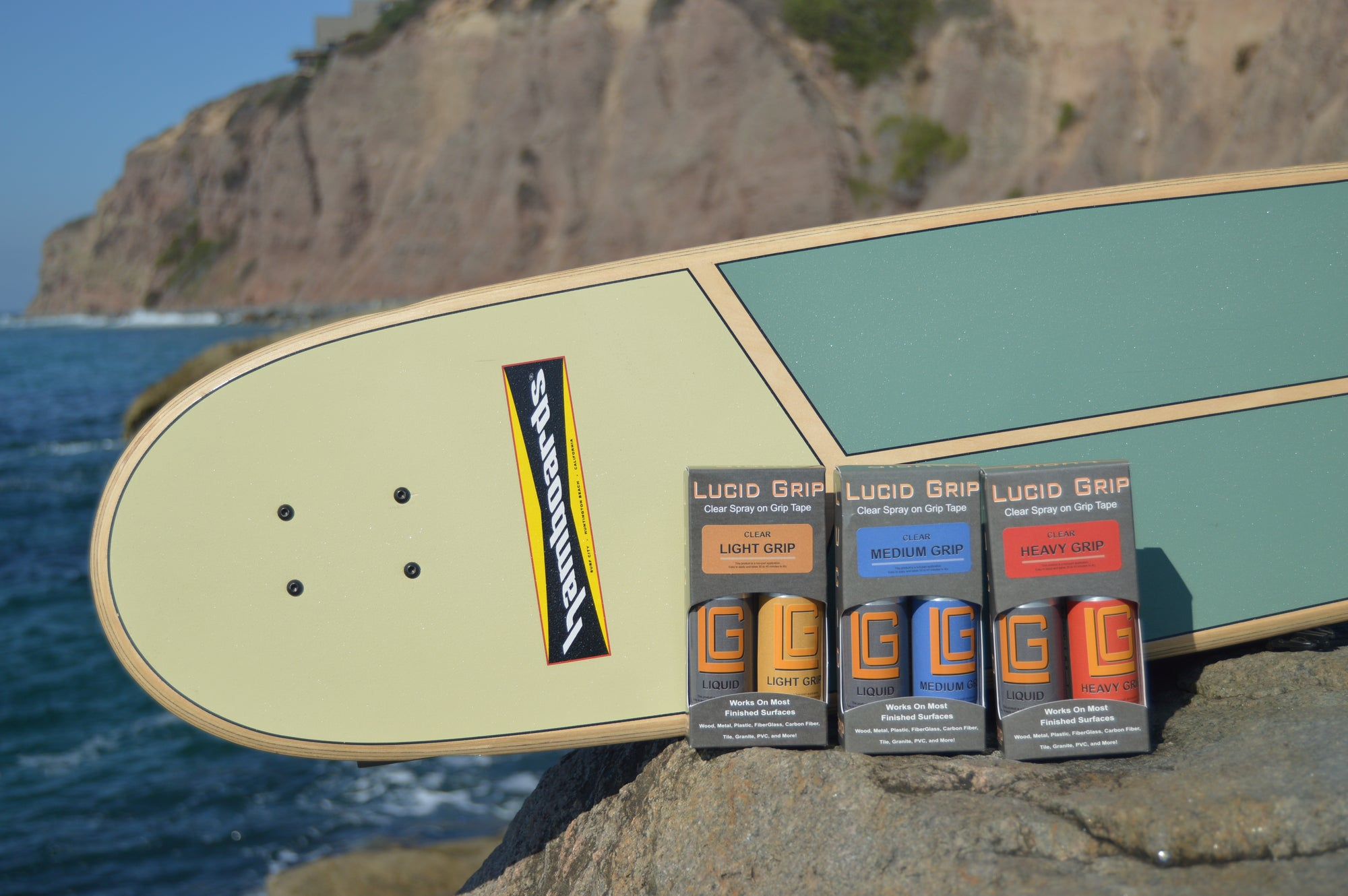 Clear Spray-on Grip for Hamboards Decks - The Official Hamboards Webstore