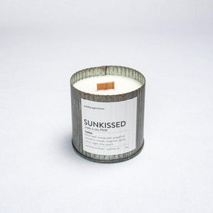 Rustic Vintage Candle (10oz) - Sunkissed