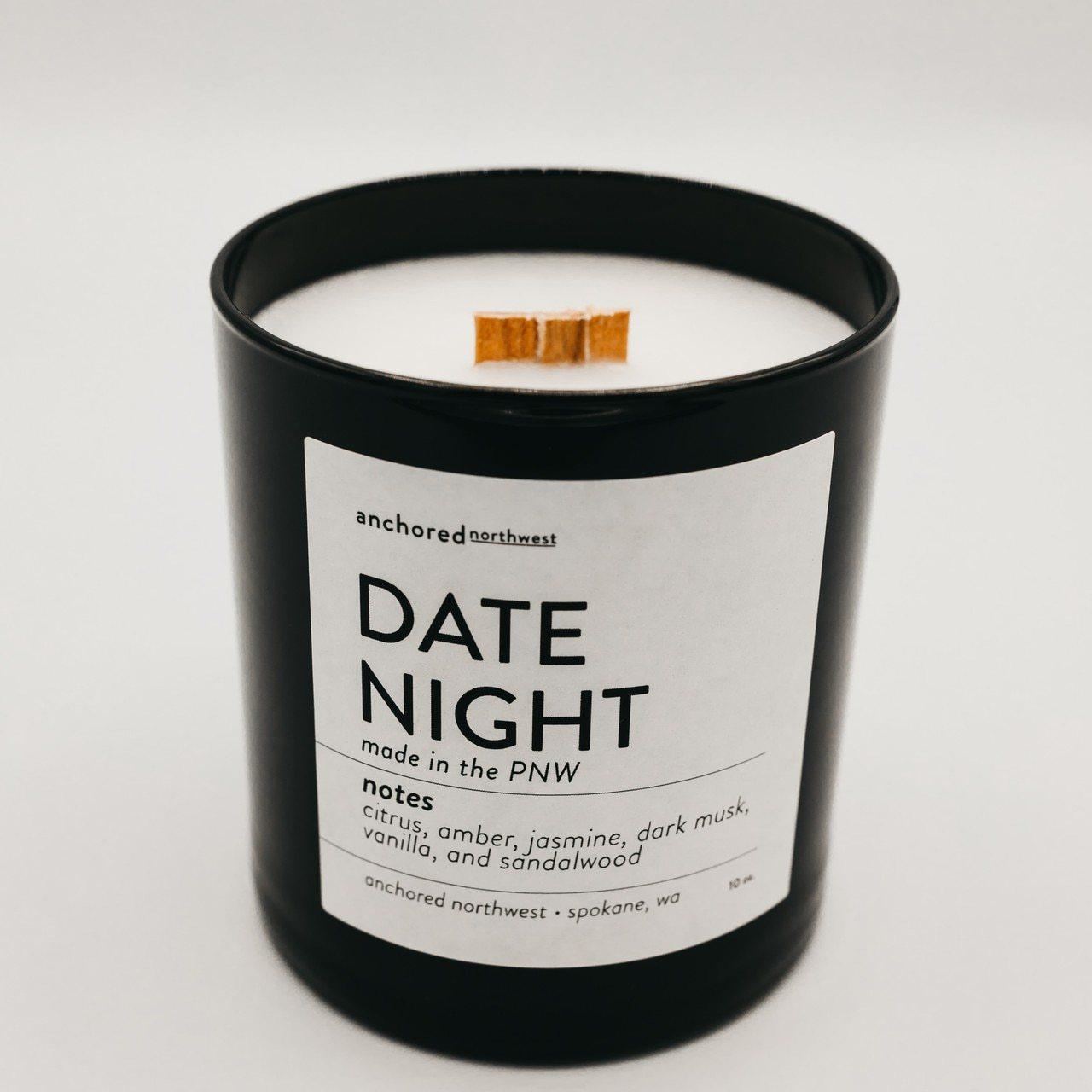 Black 10oz Tumbler w/ lid - Date Night