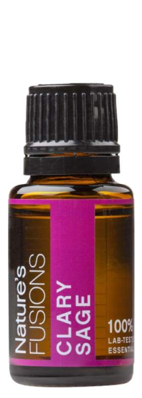 Clary Sage - 15ml - Essential Oil Bottle