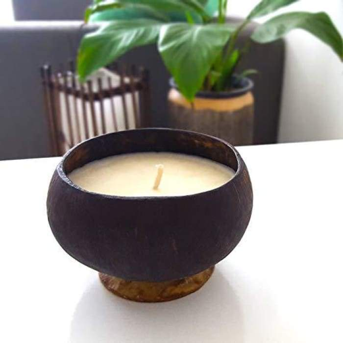 Coconut Shell Candle - Accessories