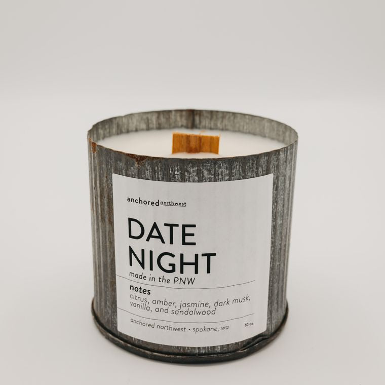 Rustic Vintage Candle (10oz) - Date Night