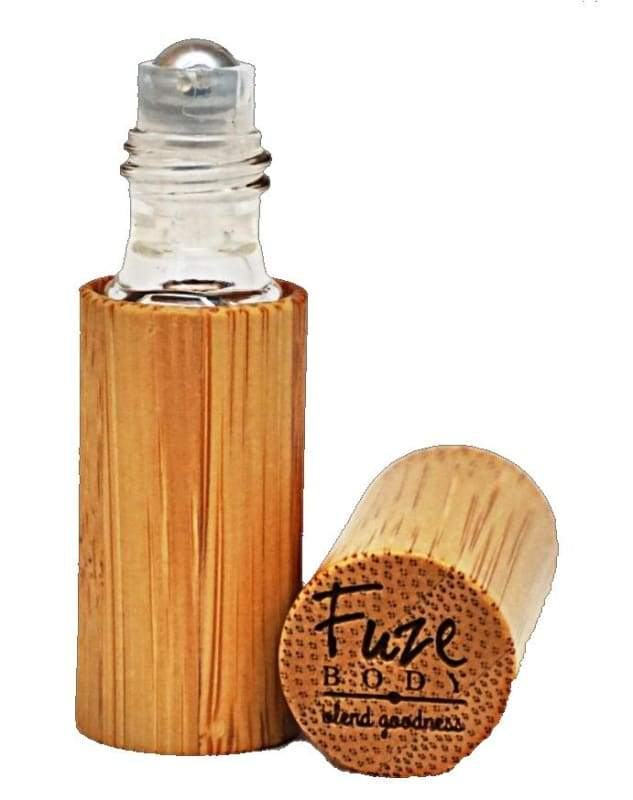 Empty Wooden Roll-On
