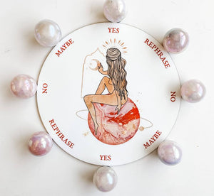 Planet Goddess Pendulum Board