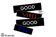T-Shirt uomo - good day - - The Good Vibes