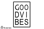 T-Shirt Donna - label - - The Good Vibes