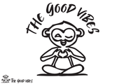 T-Shirt Donna - monkey love - - The Good Vibes