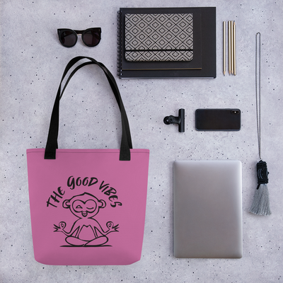 Shopper bag - pink - - The Good Vibes