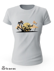 T-Shirt Donna - sunset - - The Good Vibes