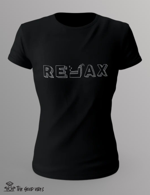 T-Shirt Donna - relax - - The Good Vibes