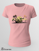 T-Shirt Donna - sunset -