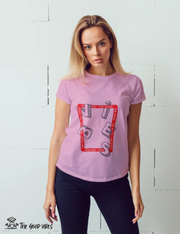 T-Shirt Donna - vibes - - The Good Vibes