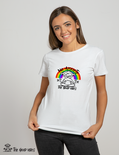 T-Shirt Donna - no anxiety - - The Good Vibes