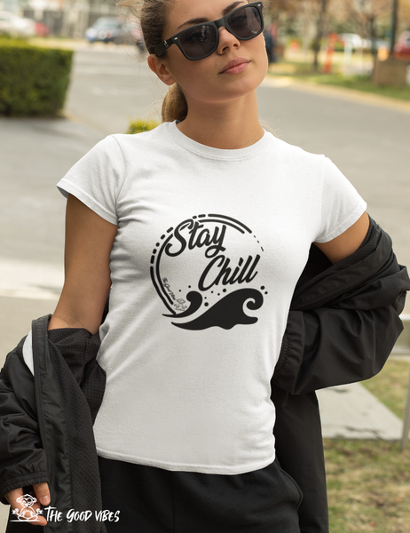 T-Shirt Donna - stay chill -