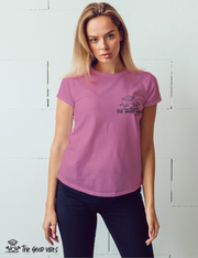 T-Shirt Donna - tgv in love - - The Good Vibes
