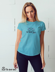 T-Shirt Donna - in love - - The Good Vibes