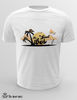 T-Shirt Uomo - sunset -
