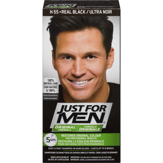 Just For Men Hair Colour, Real Black