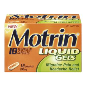 Motrin 200 mg Liquid Gels (16 ea)