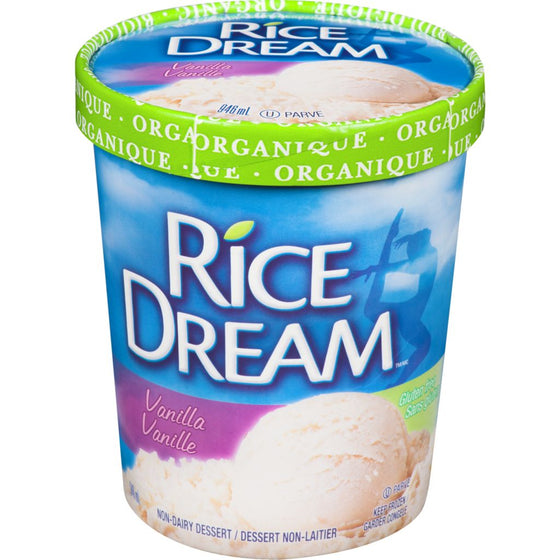 Rice Dream Organic Frozen Dessert, Vanilla (946 mL)