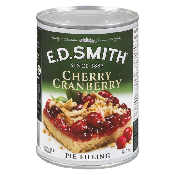 Ed Smith Pie Filling, Cherry Cranberry (540 mL)