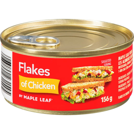 Maple Leaf Flakes of Chicken (156 g)