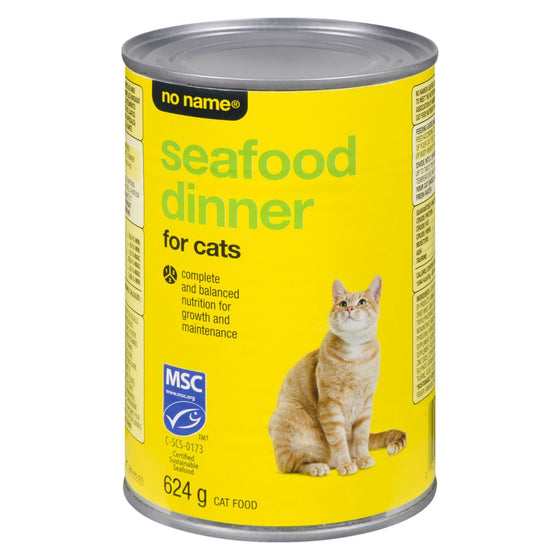 No Name Seafood Dinner for Cats (624 g)