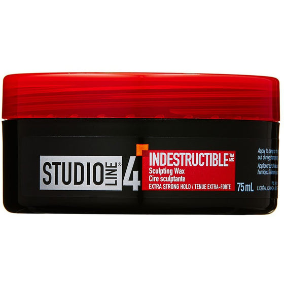 Studio Line Indestructible Wax, Strong Hold (75 mL)