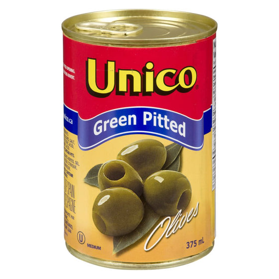 Unico Green Olives, Pitted (375 mL)