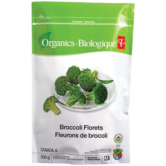 PC Organics Broccoli Florets (500 g)